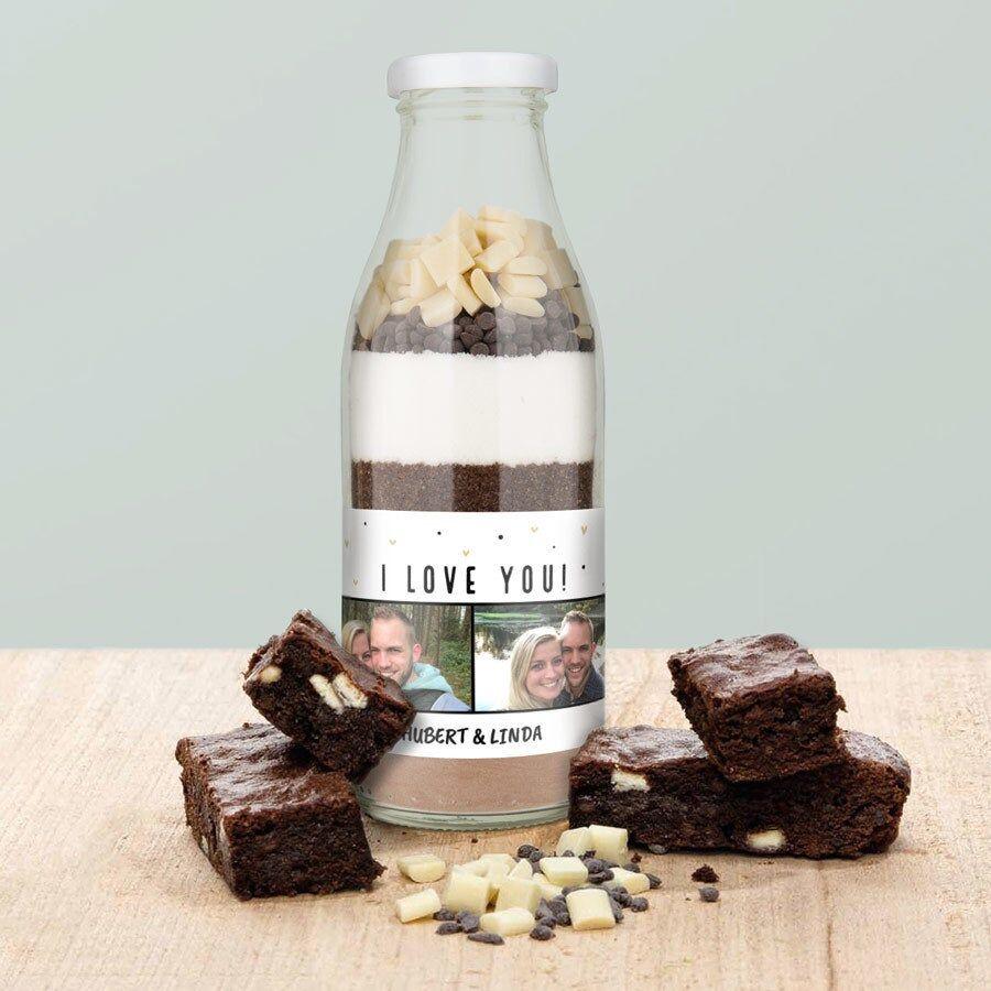 YourSurprise Recette en bocal à offrir - Brownie