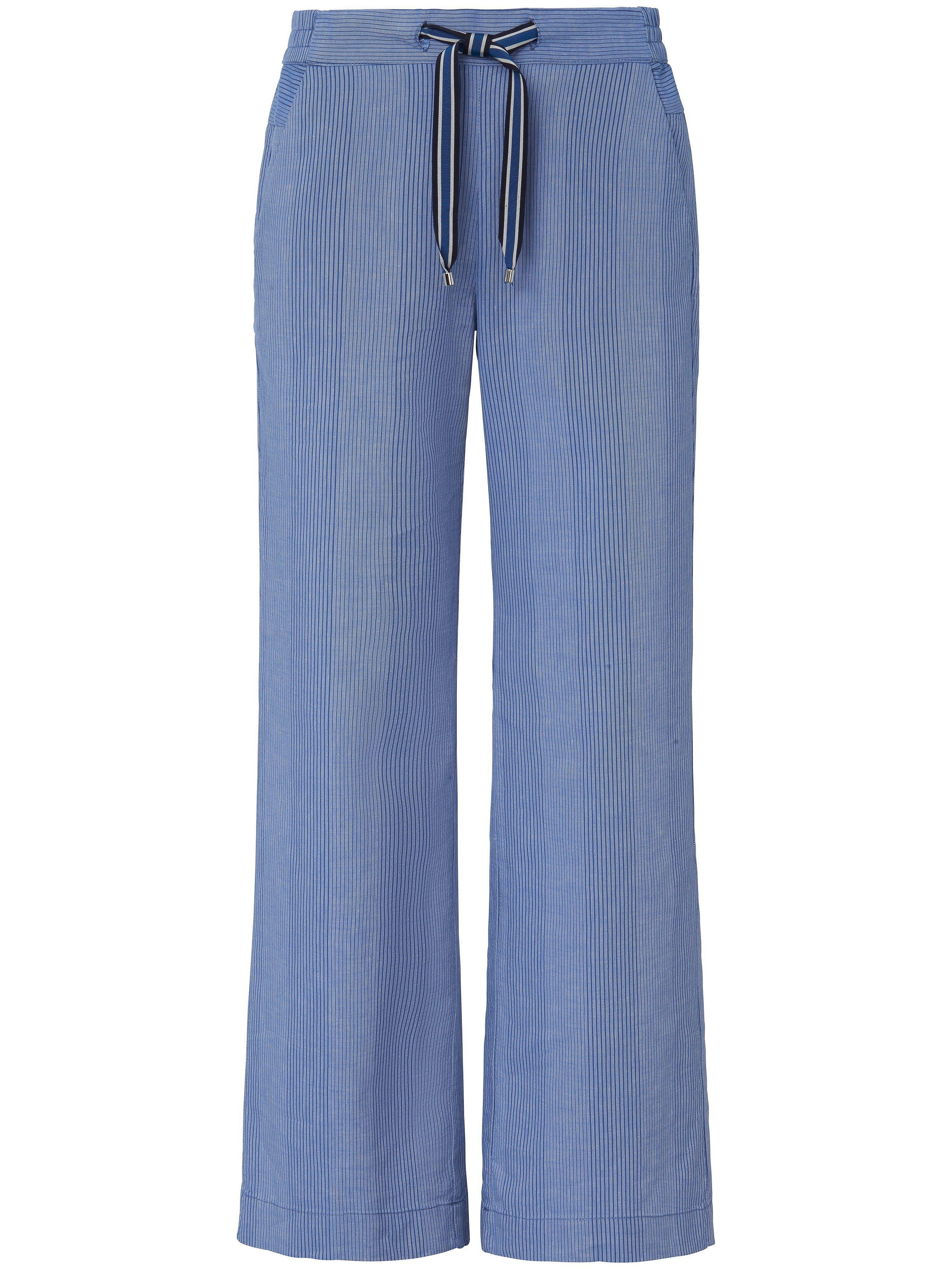 Lanius Le pantalon ligne Marlene Lanius bleu 40