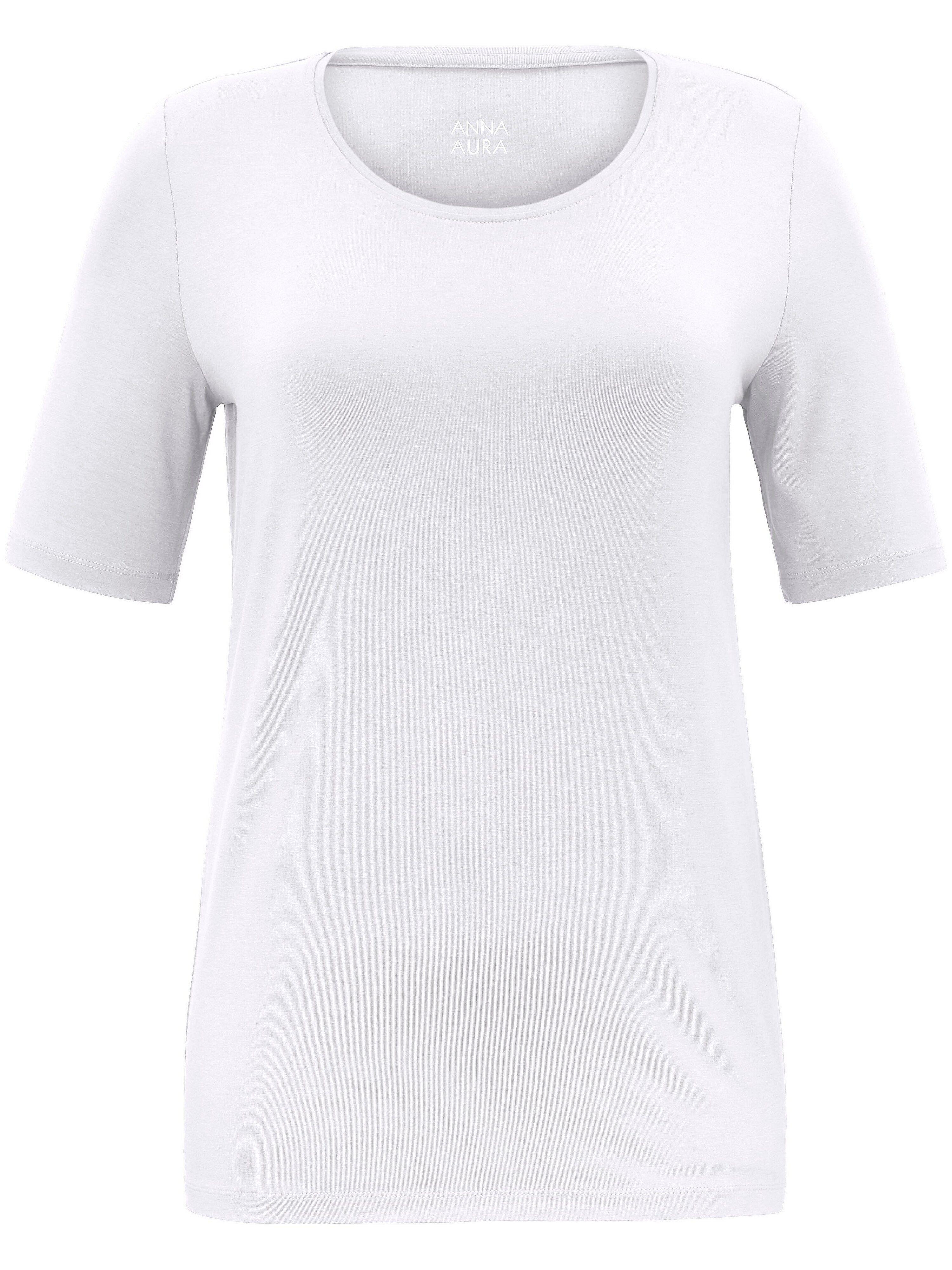 Anna Aura Le T-shirt facile d'entretien Anna Aura blanc 42
