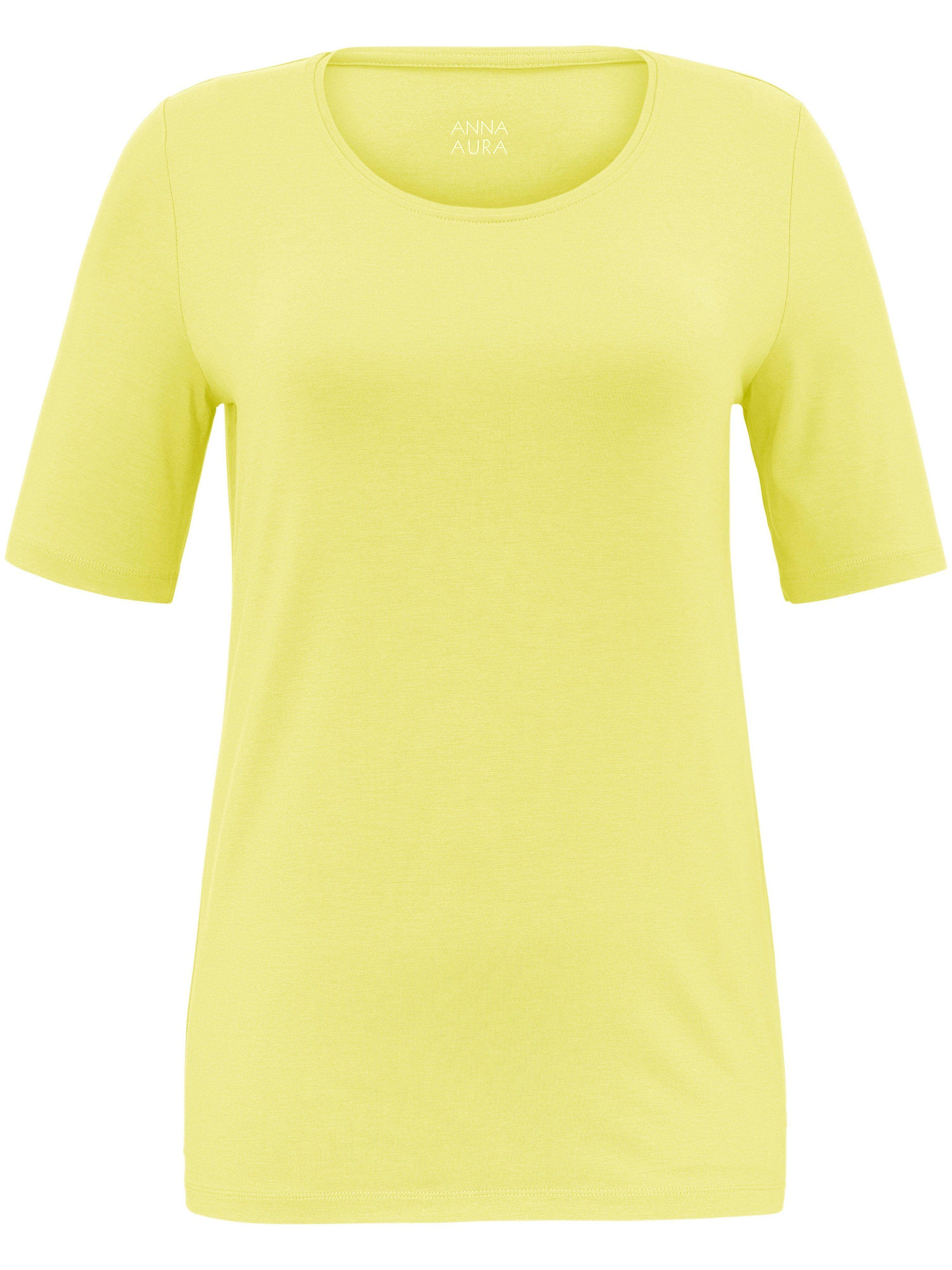 Anna Aura Le T-shirt facile d'entretien Anna Aura jaune 44