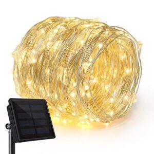 Cémonjardin Guirlande lumineuse solaire 200 micro LED - Publicité
