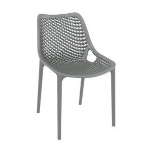 SIESTA Chaise AIR gris en polypropylène renforcé - Siesta - Publicité