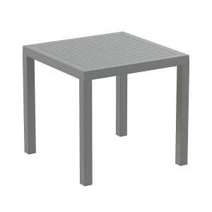 SIESTA Table ARES gris en polypropylène - Siesta - Publicité