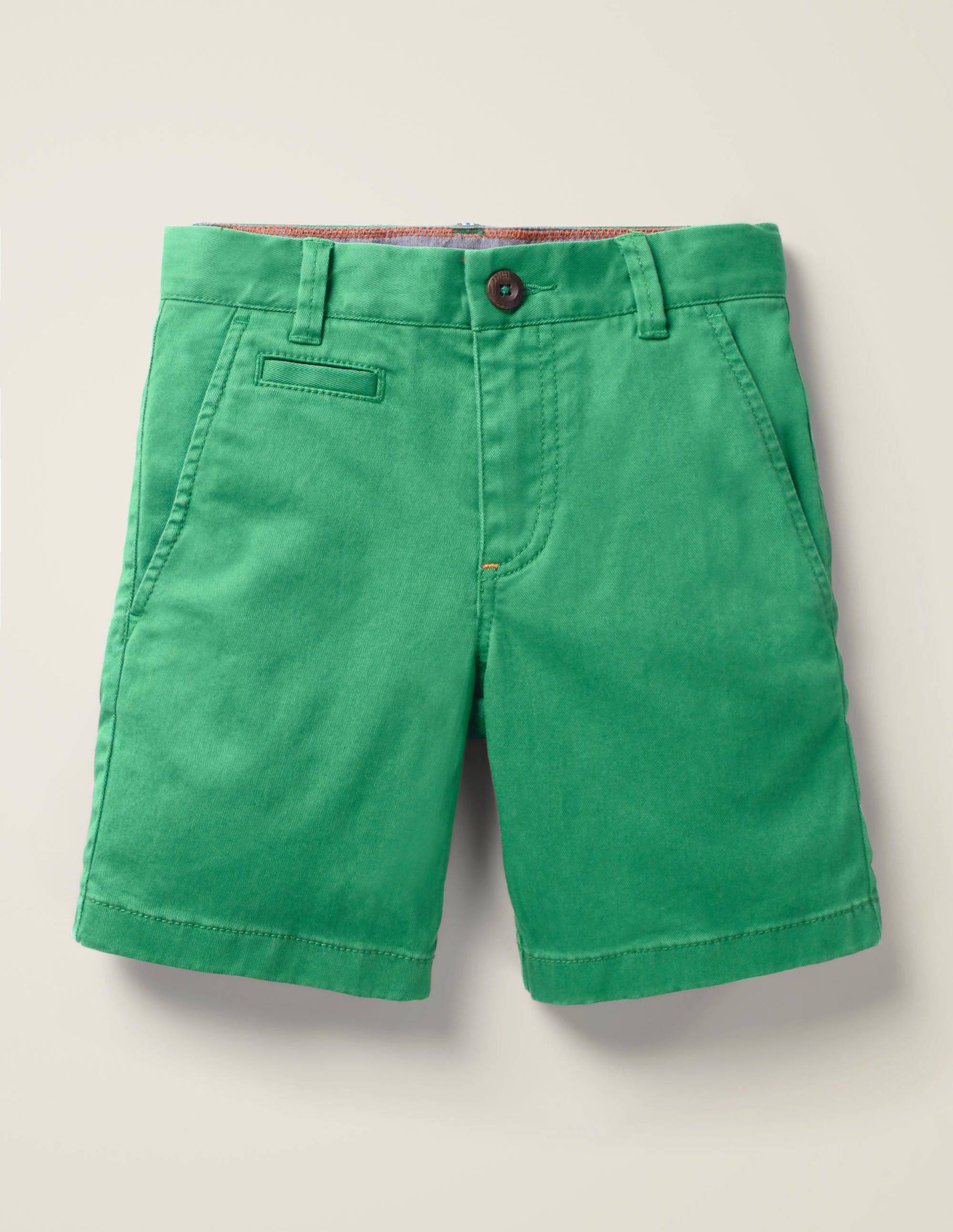 Mini Short chino GRN Femme Boden, Green - 3a