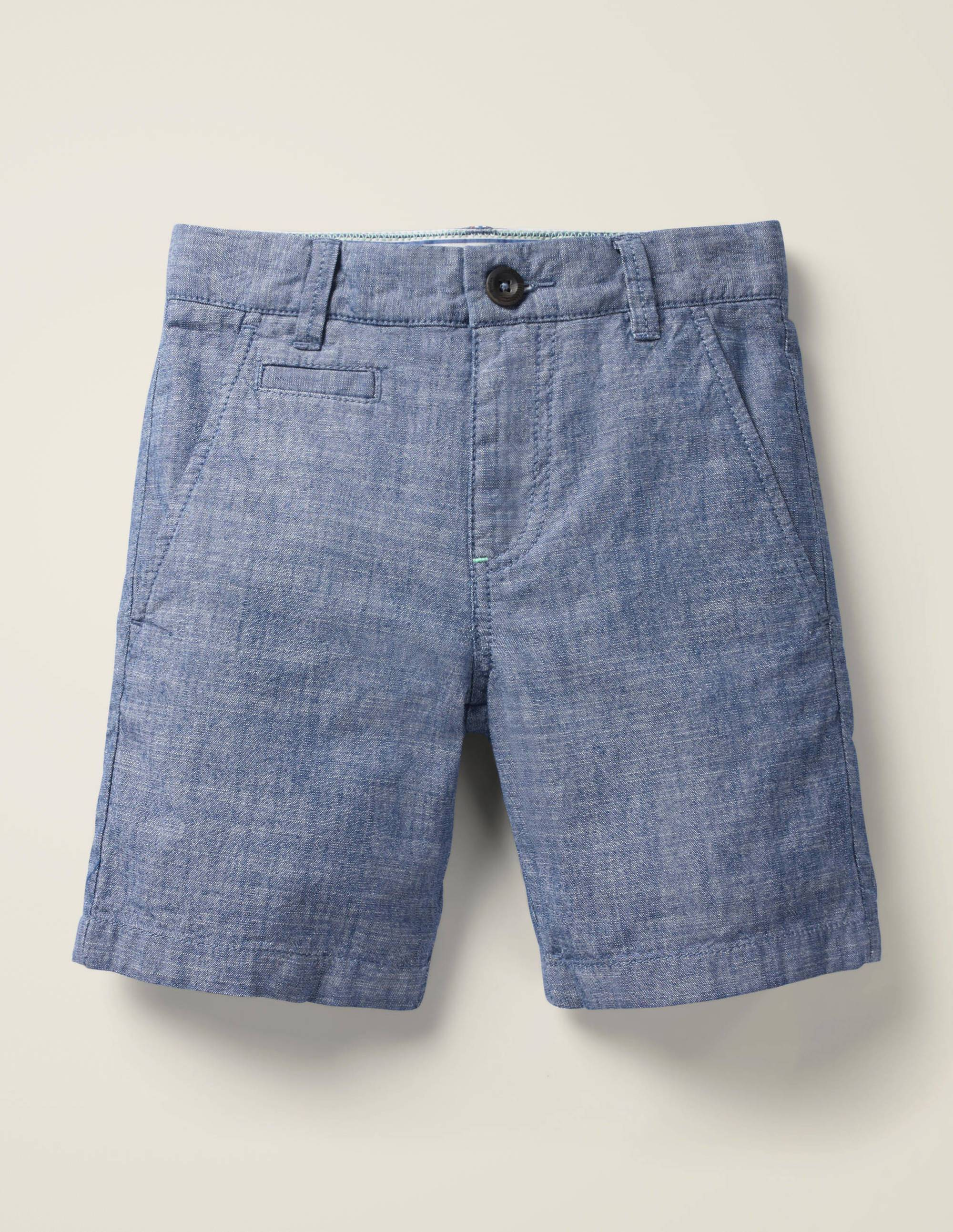 Mini Short chino MDN Femme Boden, Chambray - 4a
