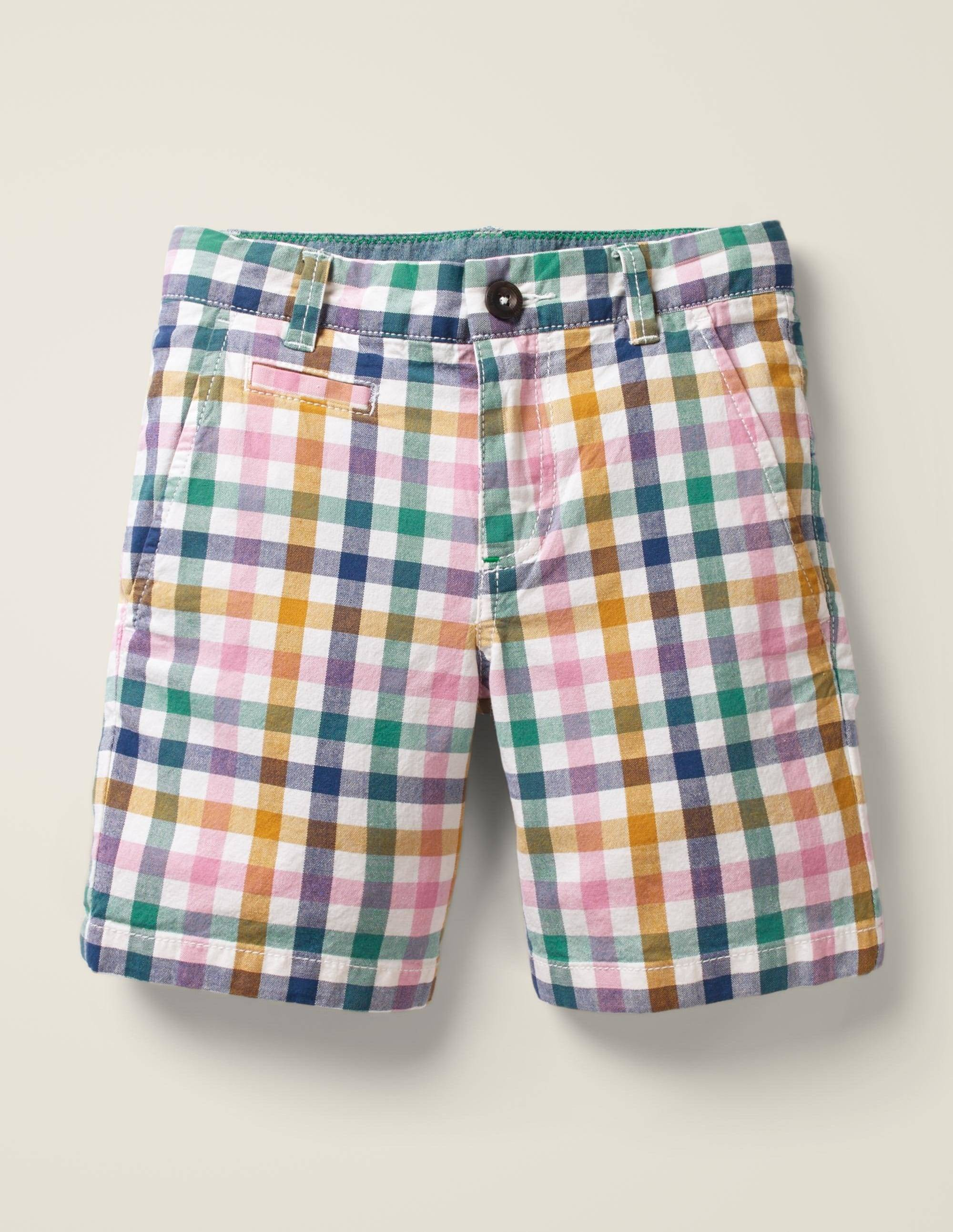 Mini Short chino MLT Femme Boden, Multi - 5a