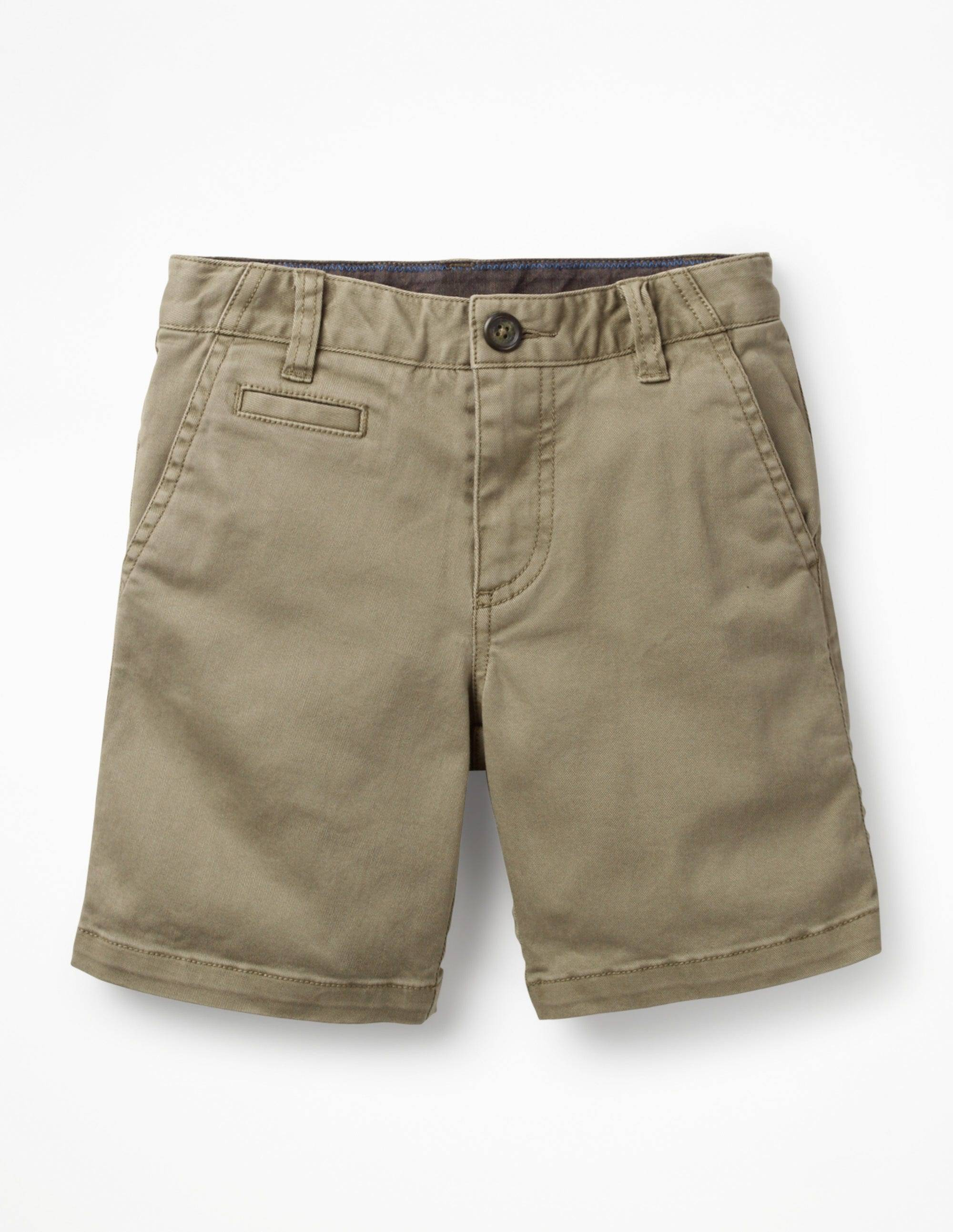 Mini Short chino BRN Garçon Boden, Brown - 8a
