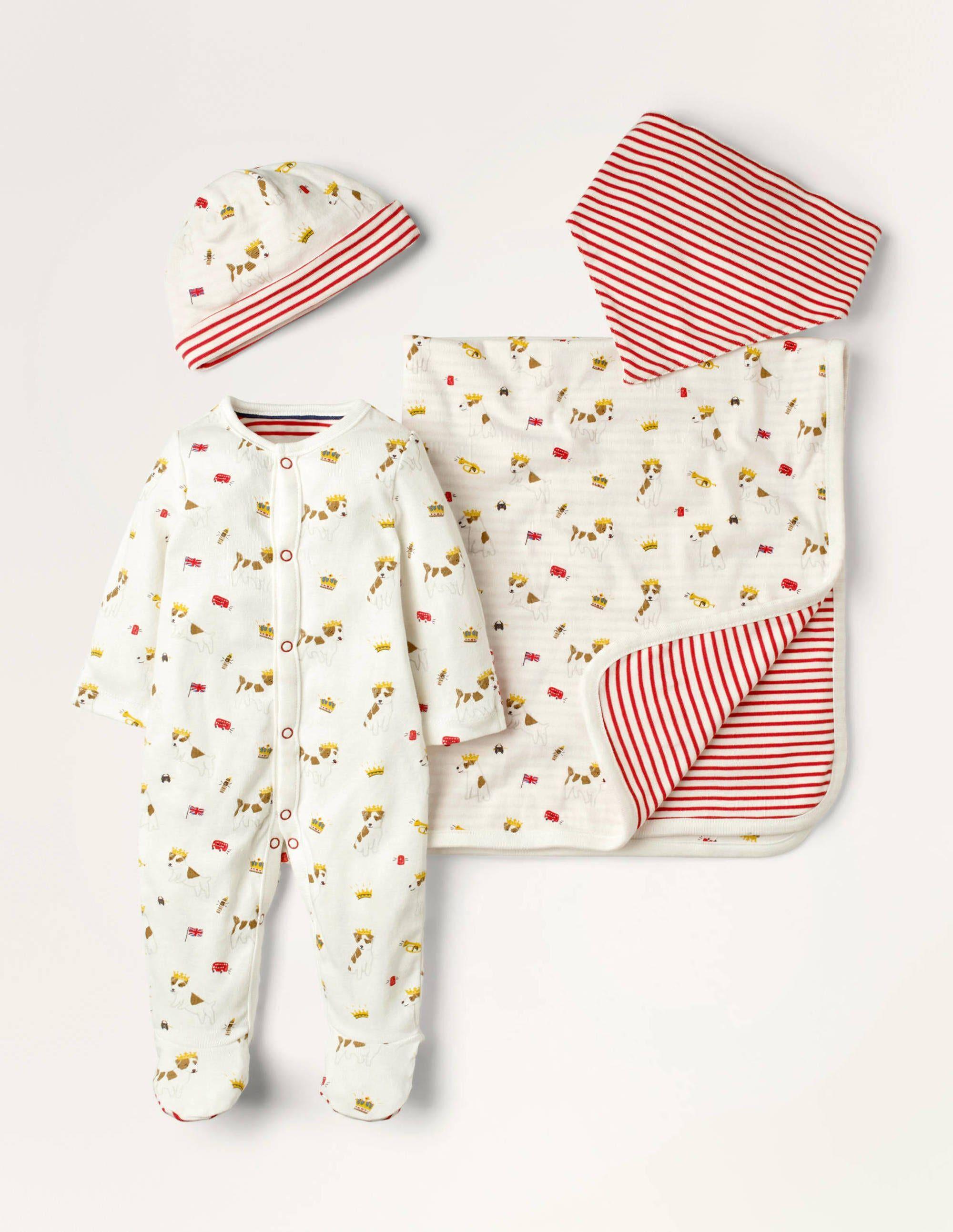 Baby Coffret cadeau Sprout pour nouveau-né IVO Bébé Boden, Ivory - 6-9m
