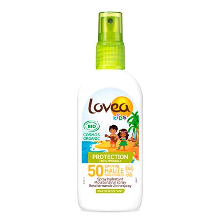 LOVEA KIDS - Spray Hydratant FPS 50 Haute Protection - 100% Minérale - Certifié Bio* 100 ml