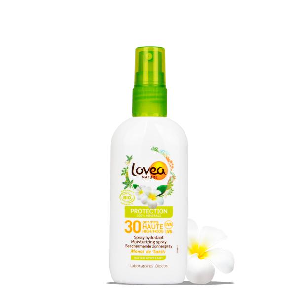 Lovea Spray Hydratant FPS 30 Haute Protection - 100% Minérale - Certifié Bio* 100 ml