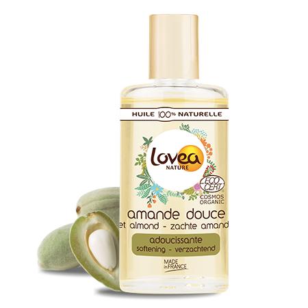 Lovea Huile d'Amande Douce Certifiée Bio* 50 ml