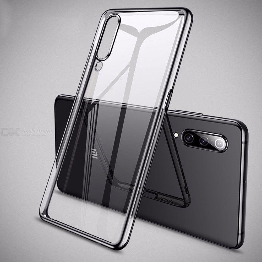 Couverture De Téléphone Ultra-mince TPU Clair Anti-choc TPU Pour Xiaomi Mi 9