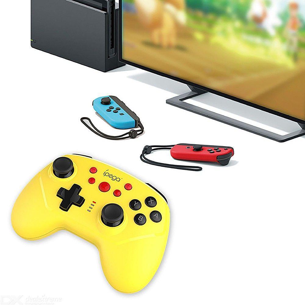 Manette De Jeu Sans Fil Pour Manette De Jeu Sans Fil Bluetooth Nintendo Switch Avec Fonction Gyroscope À Double Choc Turbo
