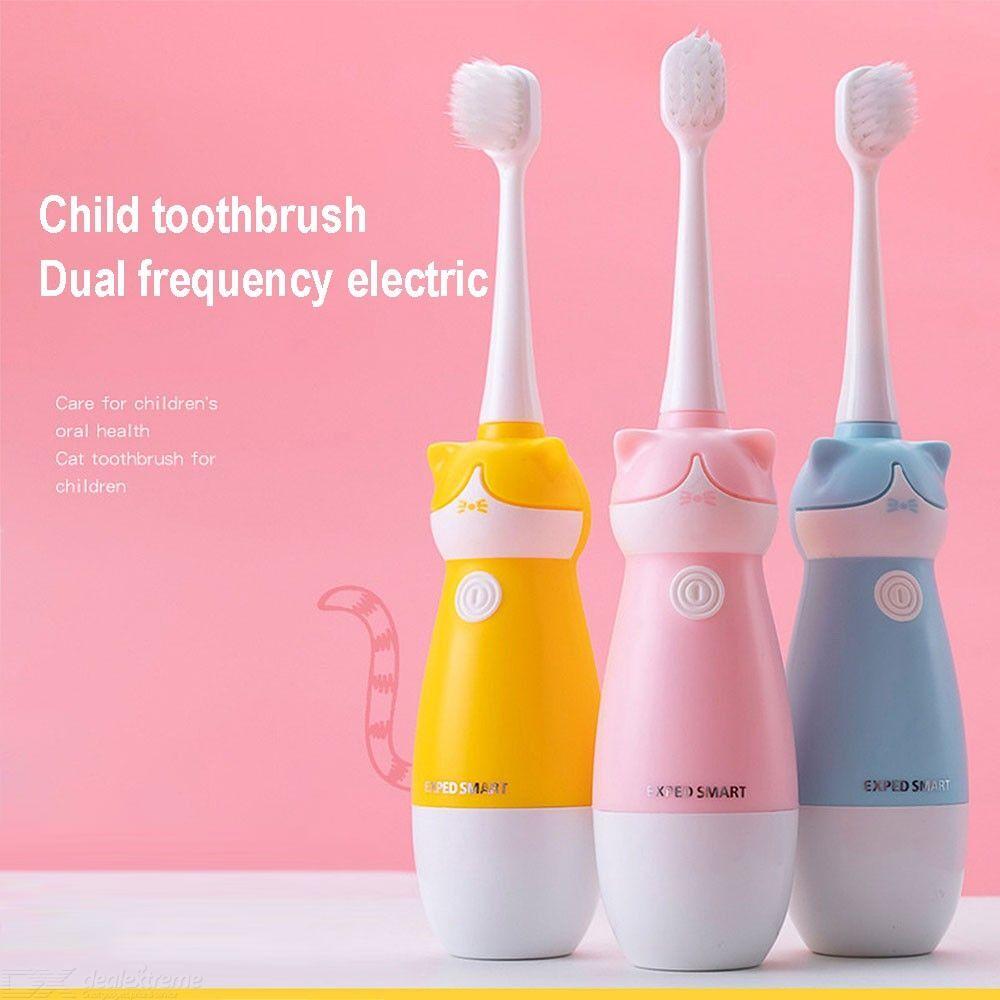 Enfants Bébé Brosse À Dents Sonique Électrique Du Corps Entier Brosses À Dents Étanches Pour Les Tout-petits Enfants
