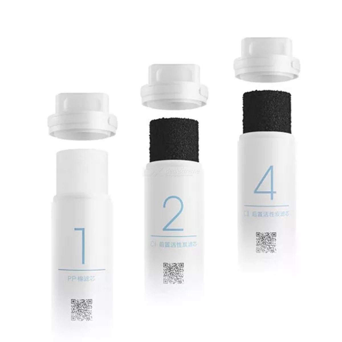 Filtre À Eau Charbon Actif Filtre Purificateur D'eau Coton Remplacement De PP Cartouches Pour Jet D'eau Xiaomi De Mijia