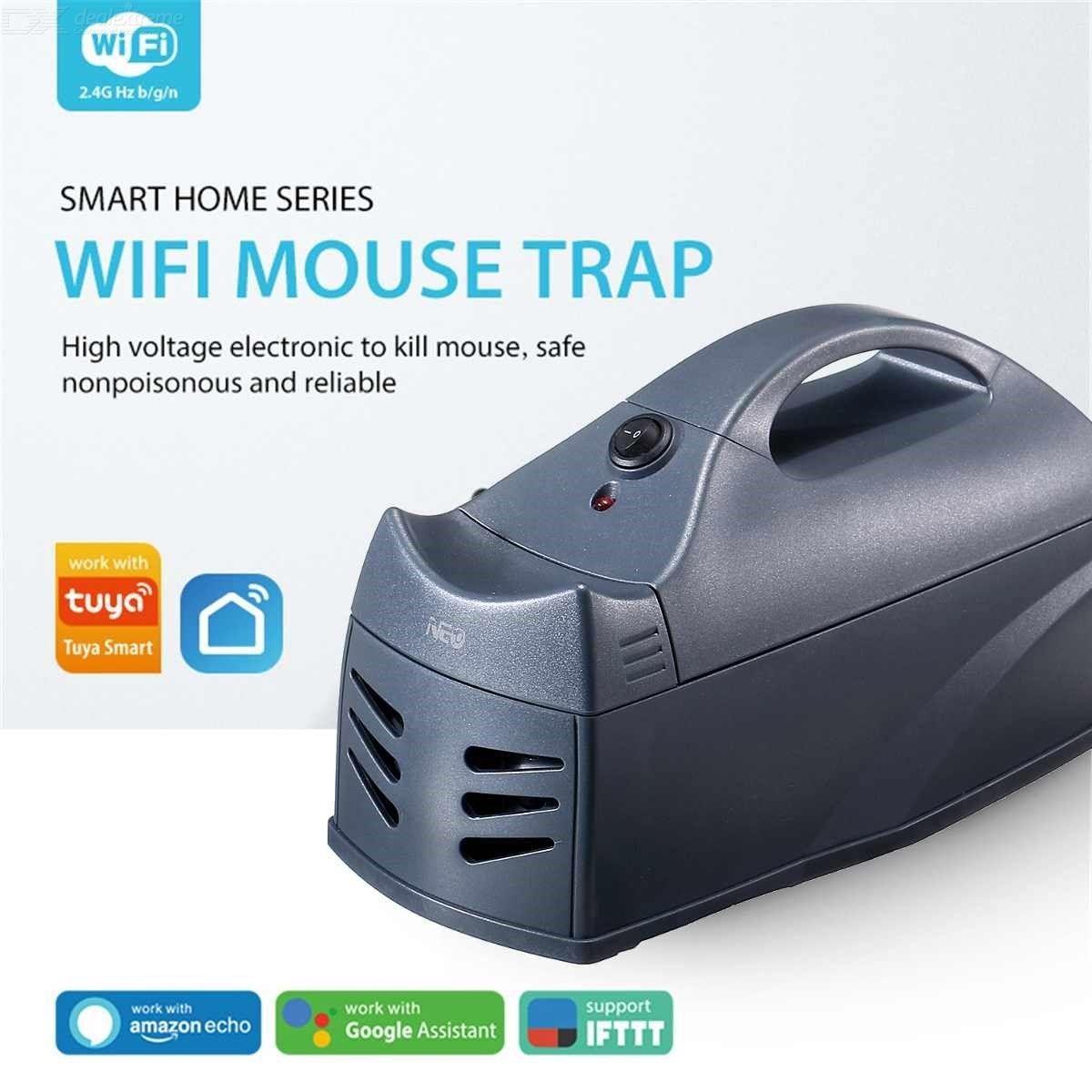 Rongeur Électronique Zapper Piège À Souris Électrique Wifi Non Toxique Piège De Choc De Rat