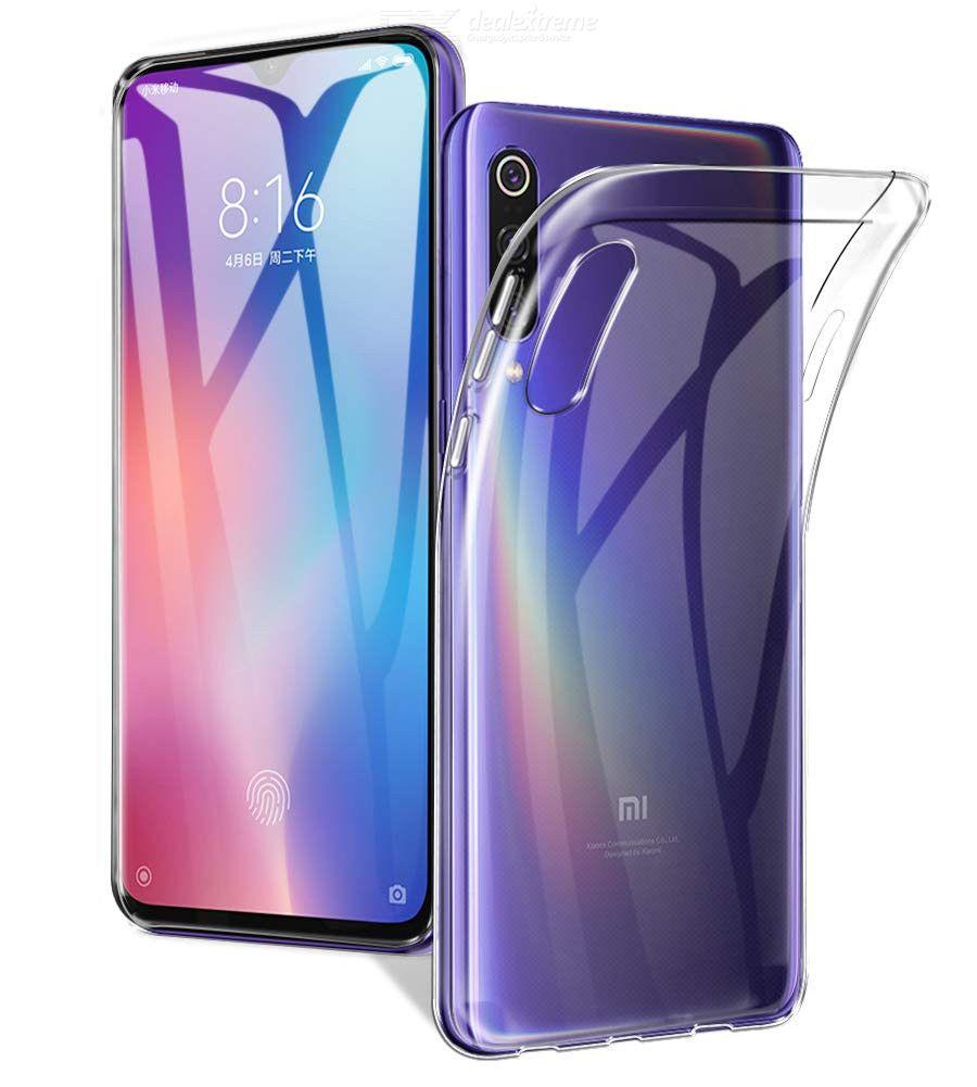 QULLOO Couverture Souple De Gel De TPU, Cas Slim Transparent Anti-rayures Absorption De Choc Pour Xiaomi Mi 9 SE