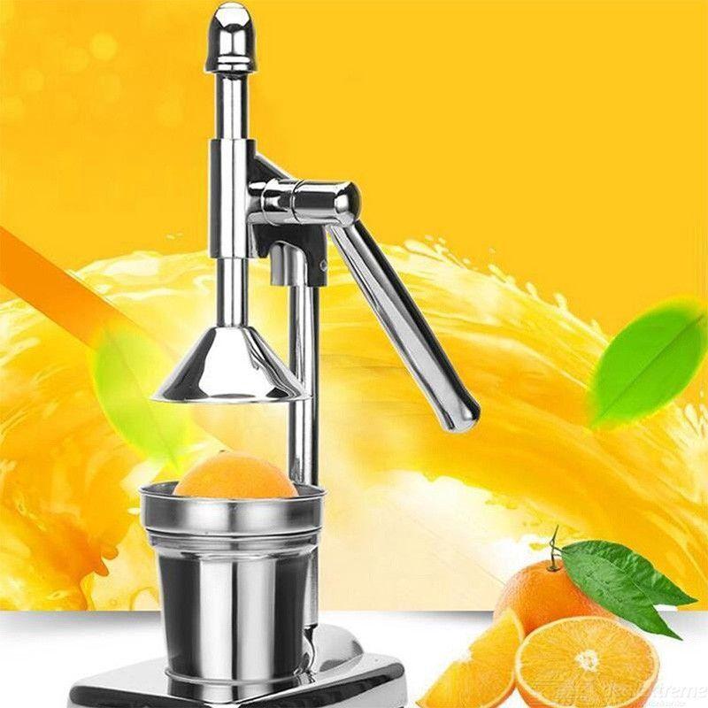 Acier Inoxydable Main Manuel Presse Juicer Fruit Grenade Agrumes Orange Citron Squeezer Jus Extracteur Commercial Ou Domestique