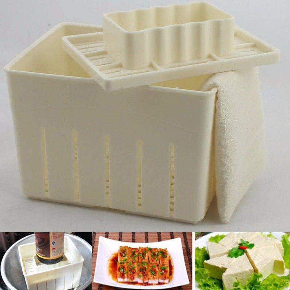 Moule De Tofu En Plastique Bricolage Tofu Fait Maison Tofu Caillé De Soja De La Fabrication De Moules Moule Avec Un Chiffon De Fromage