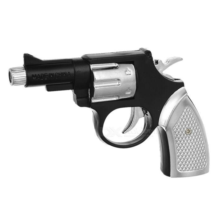 Choc-votre-ami Shocking Toy Gun - Noir + argent