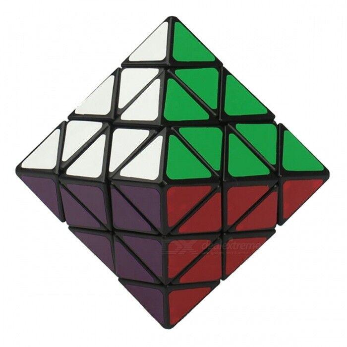 qiyi 70mm lanlan 8 visage 8-axis octaèdre twisty cube, puzzle magique anti-anxiété jouet