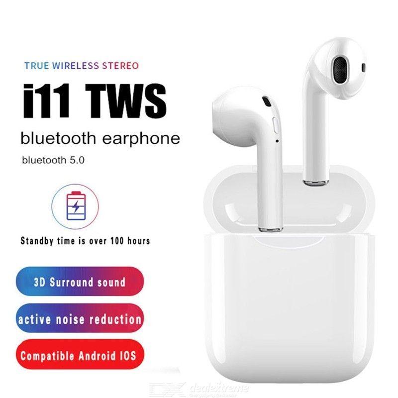 I11 TWS Bluetooth 5.0 Écouteurs Sans Fil Mini-écouteurs Écouteurs Avec Micro Pour IPhone Android Tous Les Périphériques Bluetooth