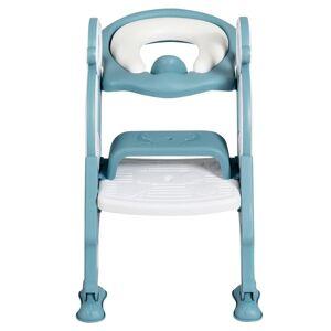 Costway Siège de Toilette pour Enfants Pliable et Hauteur Réglable en PP&PVC; Convient aux Enfants 1-8 Ans Vert - Publicité
