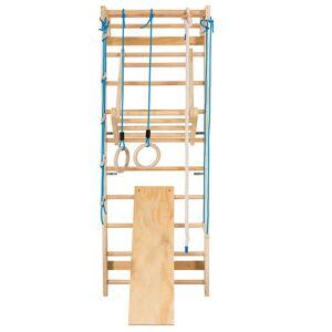 Costway Espalier Echelle de Gymnastique 80 x 60 x 220 CM Multifonctionnel pour Adulte et Enfant - Publicité