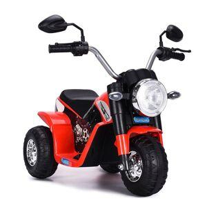 Costway Moto Electrique pour Enfants 20W à partir de 3 à 8 Ans Moto Véhicule 6V Charge max. 20KG Rouge - Publicité