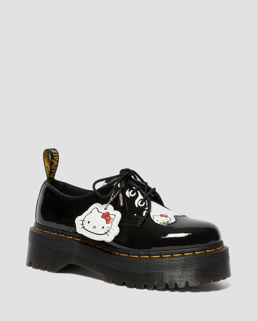 DR MARTENS CHAUSSURES 1461 HELLO KITTY QUAD