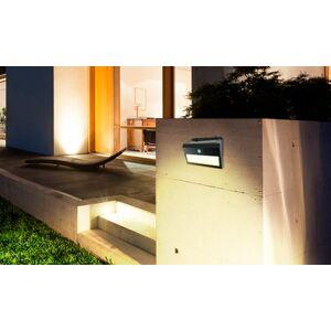 Groupon Goods Global GmbH 1 ou 2 appliques murales solaires avec détecteur de mouvement Grundig - Publicité