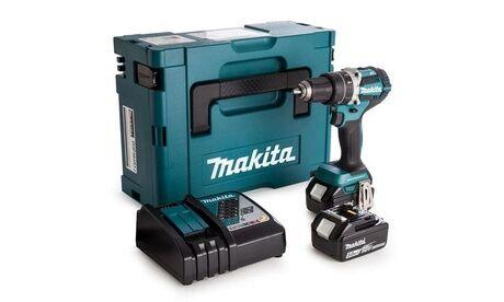 Groupon Goods Global GmbH Makita perceuse visseuse 18V- DDF483RFE en coffret MakPac avec 2 batteries 3Ah +chargeur rapide, garantie 2 ans
