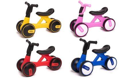 Groupon Goods Global GmbH Draisienne pour enfant avec roues silencieuses