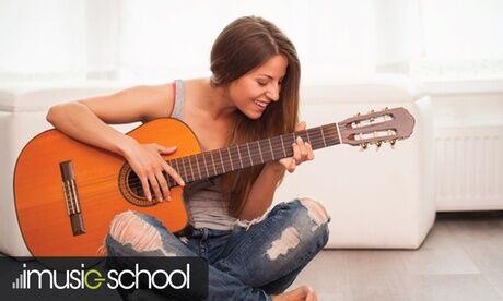 imusic-school Cours de guitare en ligne, durée au choix, sur le site imusic school
