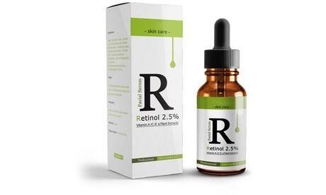 Groupon Goods Global GmbH 1, 2 ou 3 huiles visage hydratantes retinol 2,5% et vitamine E