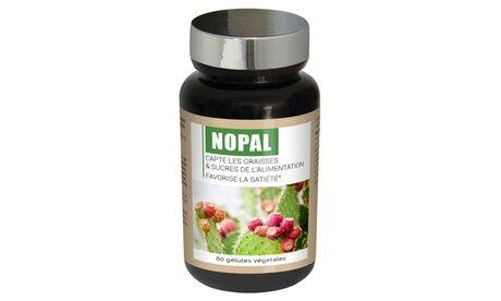 Groupon Goods Global GmbH 1, 2 ou 3 pots de 60 gélules végétales au nopal Laboratoire Ineldea - Nutriexpert