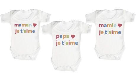 Groupon Goods Global GmbH Body en coton pour bébé Zarlivia Clothing