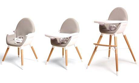 Groupon Goods Global GmbH Chaise haute évolutive 2 en 1 Webaby, livraison offerte