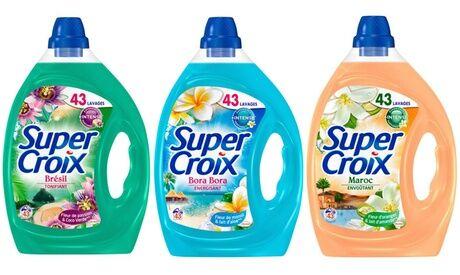 Groupon Goods Global GmbH Lot de 4 bidons de Lessive Supercroix 2,15 litres / 43 lavages