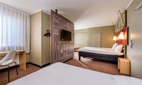 IBIS Lille Centre Grand Palais Lille : chambre double standard avec petit-déjeuner et verre vin/bière pour 2 à l'Hôtel IBIS Lille Centre Grand Palais
