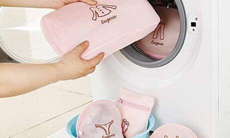Groupon Goods Global GmbH Lot de 5 sacs de rangement de vêtements pour la lessive