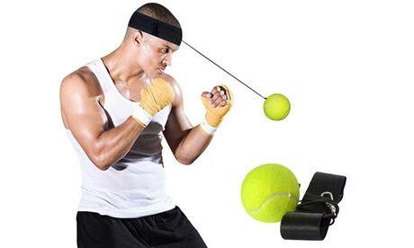 Groupon Goods Global GmbH 1 ou 2 bandeaux d'entrainement avec balle de boxe