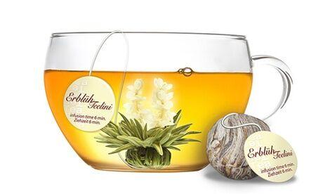 Groupon Goods Global GmbH Coffrets fleurs de thé creano avec tasse en verre