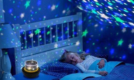 Groupon Goods Global GmbH Lampe veilleuse galaxie modulable et rotative, pour enfant