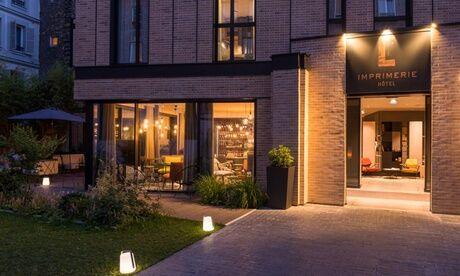 L'Imprimerie Hôtel Paris : chambre Classique ou Supérieure, vin et sauna et petit déjeuner pour 2 à L'Imprimerie Hôtel 4*