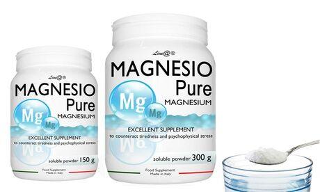 Groupon Goods Global GmbH 150 ou 300 g de cure pure magnésium Line@, source d'énergie