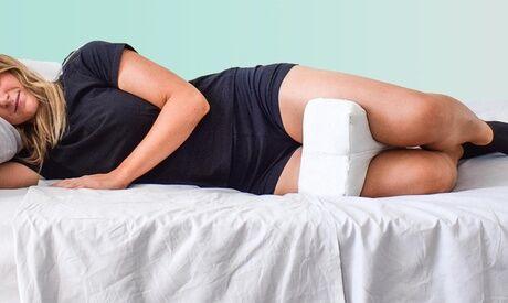 Groupon Goods Global GmbH 1 ou 2 coussin de genou ergonomique avec housse en aloès, argent ou bambou