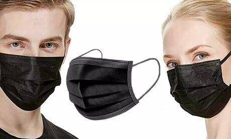Groupon Goods Global GmbH 50, 100 ou 150 masques jetables à 3 épaisseurs