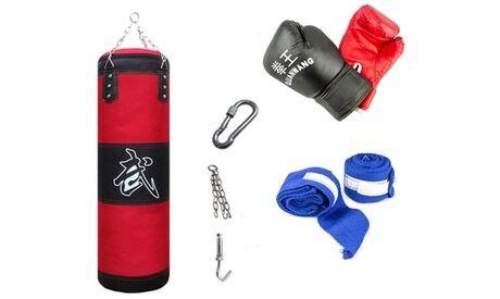 Groupon Goods Global GmbH Kit boxe complet avec gants, sac et crochet