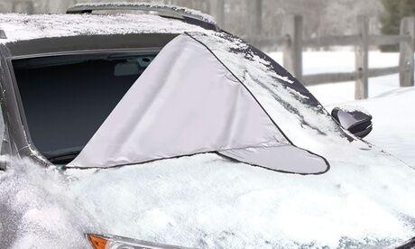 Groupon Goods Global GmbH 1 ou 2 bâches anti-gel avec ventouses pour pare-brise de voiture de Mediawave store